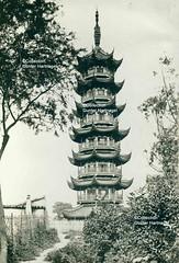 Shanghai, Longhua, Pagoda (blauepics) Tags: china family tower germany pagoda shanghai familie picture german historical turm deutsch pagode historisch longhua lunghwa schanghai