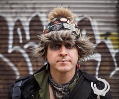 Dexter (jeffcbowen) Tags: street portrait urban toronto graffiti stranger dexter