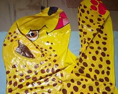 Deflated 5 (Rodsh130) Tags: Toy Plastic Inflatable Cheetah Iw  Inflatableworld Hračka Nafukovací