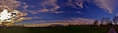 Seven Pitches wide (Sundornvic) Tags: trees light sky sun reflection water clouds river shine shropshire severn cloudscapes