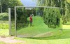 Art in Green (hansn (3+ Million Views)) Tags: sculpture green art reflections skåne artwork sweden konst sverige surfaces scania gröna anamorphic sculpturepark dangraham grönt konstverk wanås wanas reflektioner