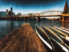 city bridge 6 apple oregon river portland ian boats pier... (Photo: Ian Sane on Flickr)