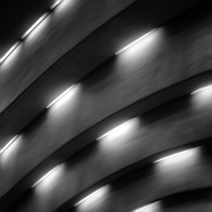 metro saint henri (Jerome Olivier) Tags: subway concrete fluorescentlight