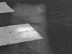 Pas  pas - Step by step (p.franche) Tags: road street light brussels urban blackandwhite white black texture blanco monochrome europe paint noir belgium belgique noiretblanc lumire negro bruxelles peinture panasonic dxo minimalism rue brussel zwart wit blanc hdr schaarbeek schaerbeek abstrait  minimalisme belge schwarzweis mustavalkoinen inbiancoenero passagepourpitons svartochvitt asbstraction  bestofbw fz200  pascalfranche pfranche skancheli