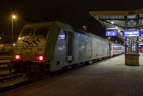 BLS 486 502 met Railpromo Austria Express, Wörgl