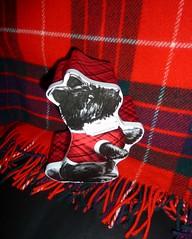 Kitschy Shortbread Tin 3/366 (Bebopgirl1969) Tags: red white black tin terrier shortbreadtin