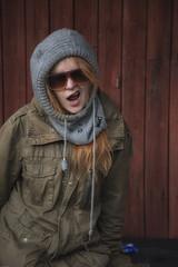 cool cat (sami kuosmanen) Tags: red woman eye girl beautiful face sunglasses suomi finland hair fun photography cool funny europe exposure foto north puu silja puna katse kouvola punainen silm knni tytt nainen aurinkolasit kaunis silmlasit kuusankoski hauska tukka siisti etel viilee