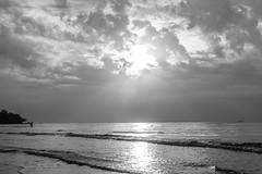 Rays of Sunrise (innlai) Tags: beach sunrise hotel nikon sigma le d750 grandeur 70300 balikpapan