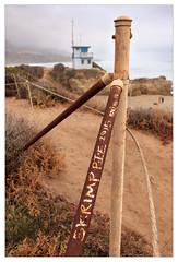 Skrimp Pie 2015 (mhocter) Tags: california beach canon fence eos graffiti malibu canoneos ef leocarillo losangelescounty leocarillobeach canonef leocarillostatepark ef247028l canonef247028l canoneos5dmarkii 5dmarkii 5d2 canon5dmarkii