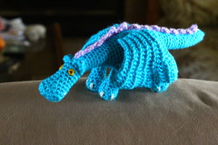 11-25McNair_0006 (monica.wood) Tags: coworker hybiscus mcnairhall crochetdragon postheadquarters christmas2015