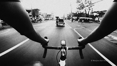 Bike Ride (Meljoe San Diego) Tags: training cycling blackwhite grain gritty session roadbike gopro strava hero4 meljoesandiego goprohero4session