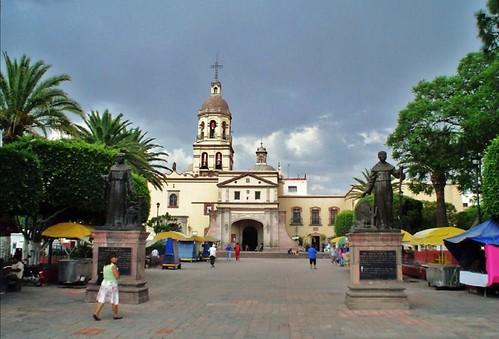 Queretaro Iglesia de la Santa Cruz hoy