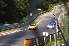 Nurburgring arrival. (Tyre Wall) Tags: road trip green forest track porsche cayman gt2 gt3 nurburgring nurburg