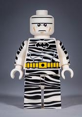 Zebra Batman - Lego Christo's Custom (gnaat_lego) Tags: lego review batman custom christo gnaat christo7108 zebrabatman indonesiancomiccon