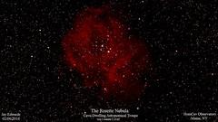 Rosette_20160206_HomCavObservatory (homcavobservatory) Tags: h observatory 49 ii nebula astrophotography astronomy region rosette emission caldwell monoceros homcav