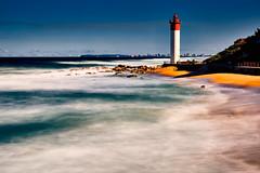 Umhlanga Lighthouse Long Exposure (mark_mullen) Tags: longexposure seascape beach sunshine landscape southafrica dawn rocks waves indianocean durban kwazulunatal umhlangarocks umhlanga canon24105f4 umhlangalighthouse canon5dmk3 leebigstopper markmullenphotography