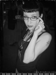Carla_027 (EYEsnap_Photography) Tags: portrait blackandwhite glasses gothic carla eyewear