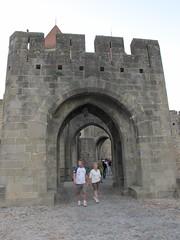 2010 09 08 Francia - Linguadoca Rossiglione - Carcassonne_0790 (Kapo Konga) Tags: mura francia carcassonne ferie languedocroussillon citta cittamedievale