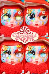 Miss Mario ( Caramelaw ) Tags: mushroom rainbow doll dolls candy sweet brothers cut ooak dal super mario pullip blythe custom yoshi caramelpops caramelaw