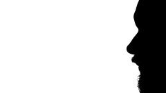 Scherenschnitt 38/366 (Skley) Tags: schwarz kopf scherenschnitt 2016 weis 38366