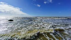 Sunny Winter Day (chris zeib) Tags: blue sea sky clouds europe european aegean greece samothraki evros a6000 emount