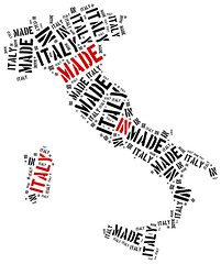 Made in Italy. Label on manufactured product. (loc.agdc) Tags: red italy plant abstract industry silhouette illustration design words construction italian sticker europe industrial european factory commerce technology message graphic background label tag country goods line stamp business made national commercial trading production concept shape shipping product import trade produced manufactured logistics assembly export manufacture manufacturer manufacturing producing tagcloud wordcloud