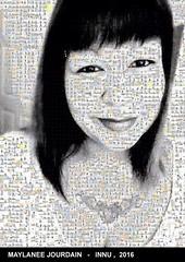 Le selfie de Maylanee Jourdain de Uashat mak Mani-Utenam recomposé avec les images du Wapikoni mobile ! http://ift.tt/1HRD64w