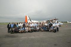 'Open Day' am gabunischen Flughafen