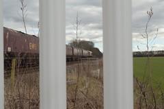 Onward to Drax (J @BRX) Tags: train gm db signal dbs drax class66 emd ews ferrybridgepowerstation draxpowerstation electromotivediesel 66194 653g february2016