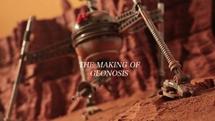 The making of Geonosis (Shobrick) Tags: army starwars lego battle scifi minifig behindthescenes makingof droid clonewars geonosis shobrick