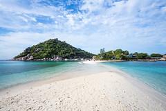 IMG_9089_edited-1 (Lauren :o)) Tags: ocean blue sea sky beach clouds thailand island paradise dive diving kohtao turtleisland nangyuan desertisland diveresort nangyuanisland