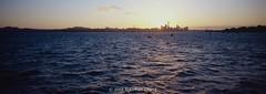 (xiaomao zhang) Tags: sunset sea newzealand weather amazing kodak slidefilm hasselblad explore auckland skytower kodake100vs ektachrome e100vs xpan kodakfilm hasselbladxpan xiaomaozhang