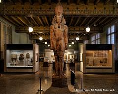 Colossal Statue of Tutankhamun (Armin Hage) Tags: chicago museum illinois egypt institute pyramids mummy oriental universityofchicago orientalinstitute tutankhamun colossalstatue colossalstatueoftutankhamun theorientalinstituteoftheuniversityofchicago josephandmarygrimshawegyptiangallery