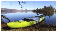 Scenic paddle (Nicolas Valentin) Tags: scotland scenery lomond lochlomond pikefishing fiishing kayakfishingscotland