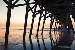 That Predawn Glow (Sigma 20mm f/1.4 ART) (Thousand Word Images by Dustin Abbott) Tags: travel usa reflection lens photography dawn myrtlebeach pier us spring dock unitedstates review southcarolina fullframe comparison hdr 2016 surfsidebeach photodujour canoneos6d thousandwordimages dustinabbott dustinabbottnet adobephotoshopcc adobelightroomcc alienskinexposurex sigma20mmf14dghsmart