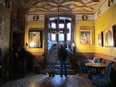2012 01 04 Germania - Baden Wurttemberg - Burg Hohenzollern - Salone blu_0324 (Kapo Konga) Tags: castello germania burghohenzollern appartamenti badenwurttemberg ambientiinterni