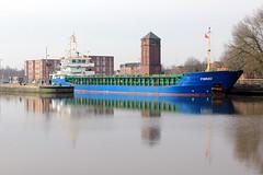 Pinnau (North Ports) Tags: port manchester canal ship cement terminal upper locks peel trafford salford ports msc flixton reaches irlam mmsi pinnau 211511440