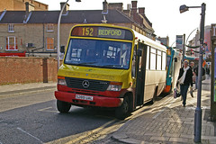 Cedar Coaches Mercedes O814 S289UAL in bedford (Mark Bowerbank) Tags: bedford mercedes cedar coaches o814 s289ual