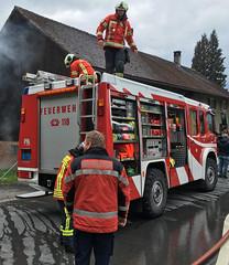 Liechtenstein Fire Brigade - Firefighters  56 (Hellebardius) Tags: feuerwehr bomberos firedepartment pompiers firefighers vigilidelfuoco pompiere feuerwehrleute servicedesincendies brandweerlieden firefightersliechtenstein