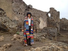 The doctor in Pompeii (MajorMorgan65) Tags: tom baker who dr 4th doctor fourth pompei