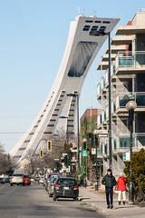 Olympic Stadium Tower (caribb) Tags: street city urban canada streets tower montral quebec montreal qubec olympicstadium mercier eastend 2016 mercierhochelaga