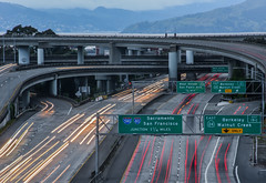 west street ramp (pbo31) Tags: california blue sky urban motion color oakland spring nikon highway ramp view traffic over bayarea april 24 eastbay exit 80 piedmont alamedacounty interchange roadway 580 2016 lightstream boury pbo31 d810 macauthurmaze