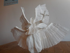 Angel 1.1 (Bart Davids) Tags: angel paper design origami box complex paperfolding folding pleating pleat paperfold