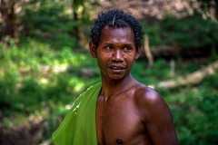 Orang Asli Man (nagajohn) Tags: nikon rainforest malaysia d5200 nagajohn johnkwee