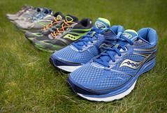 06-52: up and running (matt_in_a_field) Tags: new grass canon eos shoes dof running run trainers 5d dslr runner saucony mk3 2470mm