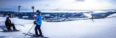 Slope 30 in Trysil (JohanKampe) Tags: winter panorama mountain snow signs cold ice berg sign norway outside snowboarding outdoors person norge is vinter skiing human persons sn humans skylt skidkning trysil personer skyltar utomhus mnniska mnniskor kallt
