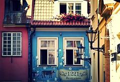 Mural, Jauniela, Riga Old Town (bobbex) Tags: naiveart latvia latvija mural cow baltic balticstate easterneurope