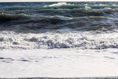 La playa (Micheo) Tags: sea storm mar spain agua waves rough olas temporal wate