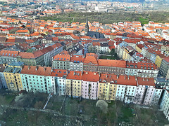 Mahlerovy sady in ikov area of Prague, Czech Republic. March 23, 2016 (Vadiroma) Tags: city europe czech prague capital praha televisiontower 2016 ikov esko