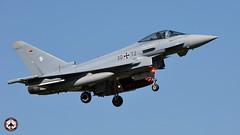 "German Air Force - Luftwaffe Eurofighter  30+72 ""strobe"" (foto-metkemeier.net) Tags: jets f16 eurofighter f18 usairforce f15 luftwaffe mirage2000 rnlaf natoexercise airfighters ehlw armeedelair frisianflag2016"